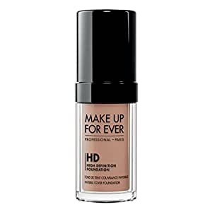 MAKE UP FOR EVER HD Invisible Cover Foundation 130 Warm Ivory 1.01 oz