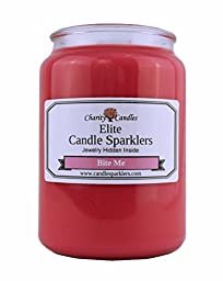 Bite Me Elite Candle Sparkler w/ .925 Sterling Silver Jewelry Inside