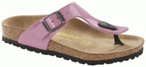 Birkenstock Women'S Gizeh Cork Footbed Thong Sandal Pink 36 M Eu front-950698