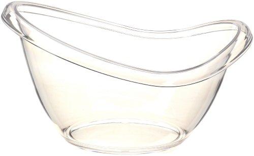 Prodyne Ab-19 Big Bath Party Tub, Clear front-167613