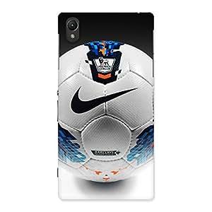 Impressive Soccer Multicolor Back Case Cover for Sony Xperia Z1