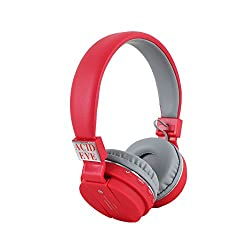 Acid Eye Red Bluetooth Headphone SH-12