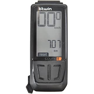 Btwin Bike-Computer-Count-8 Computer, Adult (Black)