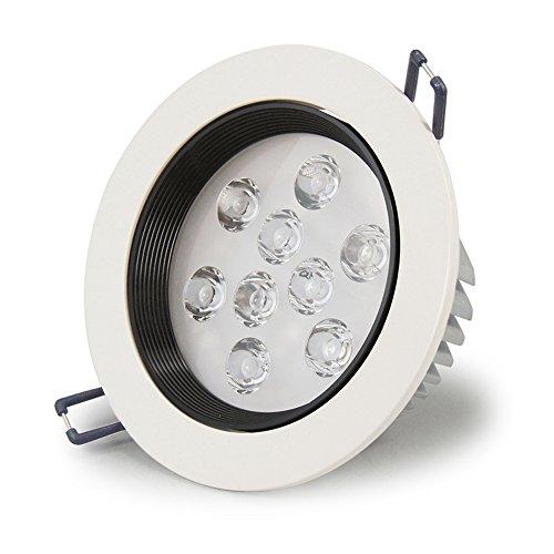 High Power 9X1W Led Downlight Adjustable Anti-Glare Ceiling Light