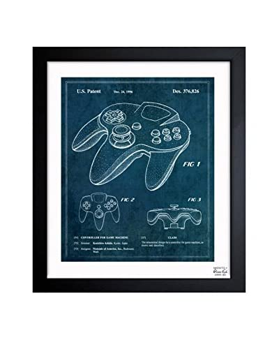 "Oliver Gal ""Controller For Game Machine 1996"" Framed Art"