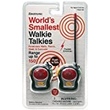 World's Smallest Walkie Talkie Minis (Set of 2)