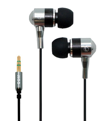 "Hi-Fi Noise-Reducing Ear Buds For Kindle Fire Hd 8.9"" 4G, Ipad Mini, Ipad3 And Touchscreen Tablets (Silver)"