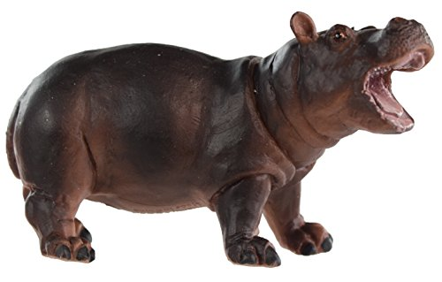 Safari Ltd Wild Safari Wildlife - Hippopotamus Baby - Realistic Hand Painted Toy Figurine Model - Quality Construction from Safe and BPA Free Materials - For Ages 3 and Up
