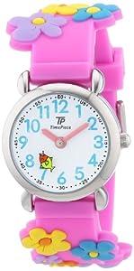 TP Time Piece Mädchen-Armbanduhr TP Kinderuhren Analog Quarz Silikon TPCA-90695-41P