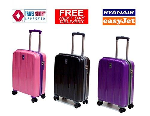 premium-qualitat-easy-jet-ryan-air-cabin-zugelassen-polypropylen-koffer-mit-tsa-schloss-violett-55cm