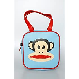 Paul Frank The Julius Box Tote in Light Blue,Bags (Handbags/Totes) for Women
