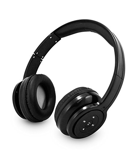 Double Bass Clear Stereo Sound Bluetooth Wireless Headphones With Hands-Free And In Headset Control
