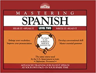 Mastering Spanish, Level 2: Book Only (Mastering Series: Level 2)