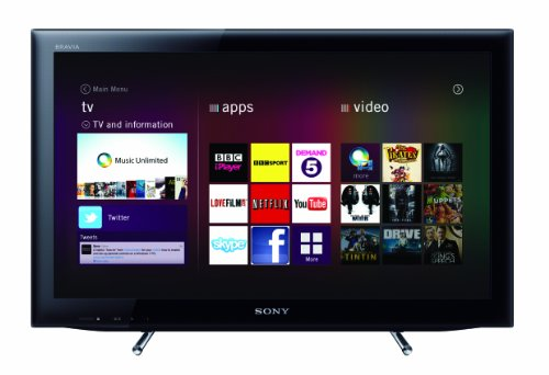 Sony KDL22EX553BU 22-inch Widescreen HD-ready SMART WiFi LED TV with Freeview HD - Black