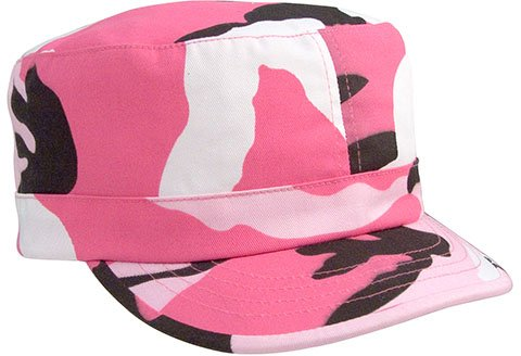 Pink Camouflage Fatigue Cap (Womens)