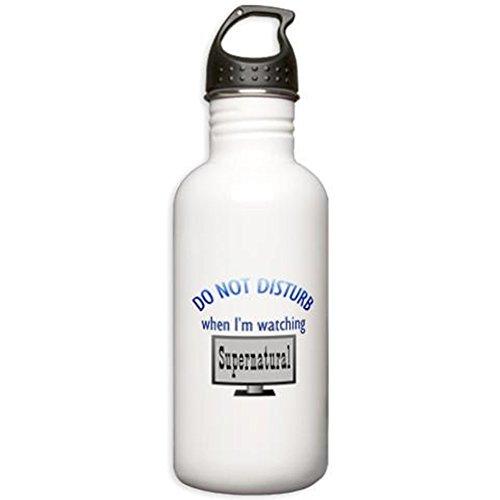 CafePress - Do Not Disturb Supernatural Stainless Water Bottle - Stainless Steel Water Bottle, 1.0L Sports Bottle (Dean Winchester Blue Steel compare prices)