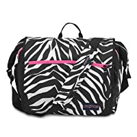 Jansport Elefunk Messenger Bag, Laptop Bag Zebra Pink from Jansport