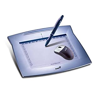 Genius MousePen 8 x 6-Inch Graphic Tablet for Home and Office