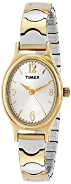 Timex Womens T26301 Elevated Classics Dress Two-Tone Expansion
