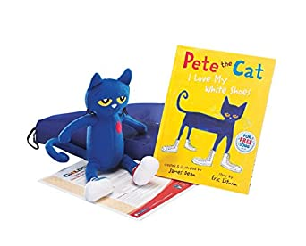 childcraft literacy bag pete the cat i my white