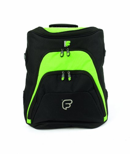 Fusion F1-28BCBL Workstation Backpack - Black/Lime