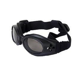 TOOGOO(R) Black Framed Pet Puppy Dog UV Protection Doggles Goggles Sunglasses Eyewear