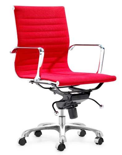 Fabric Office Chair - Lider Office Chair - Zuo Modern - 205208