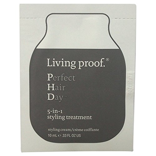Living Proof Perfect Hair Day 5-in-1 Styling Treatment for Unisex, 0.33 oz by Living Proof