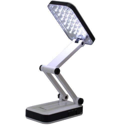 Mobile 24 LED Ultrahelle Tisch Lampe mit Akku