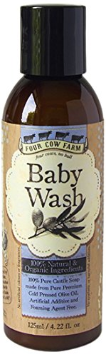 Four Cow Farm Baby Wash, 125 ml