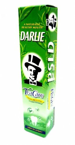 Darlie Tea Care Longjing Green Tea Extract Fluoride Toothpaste 160G