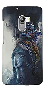 NAV PRINTED BACK COVER For Lenovo Vibe K4 Note