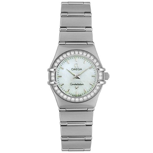 Omega Women's 1466.71.00 Constellation Quartz Mini Diamond Bezel Watch