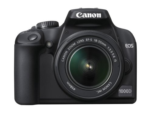 Canon EOS 1000D Digital SLR Camera (incl EF-S 18-55mm IS f/3.5-5.6 non USM Lens Kit)