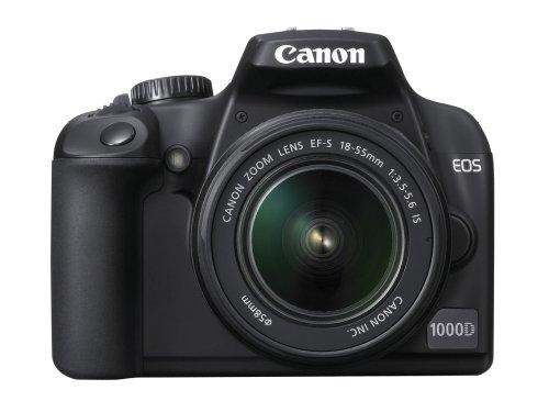 Canon EOS 1000D Digital SLR Camera (incl EF-S