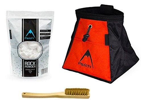 psychi-Sac--craie-en-bloc-Seau-support-Starter-Pack-Craie-pour-escalade-avec-fond-et-de-sanglier-brosse--cheveux