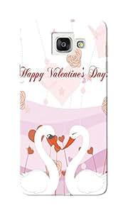 KnapCase Happy Valentine's Designer 3D Printed Case Cover For Samsung Galaxy A7 2016