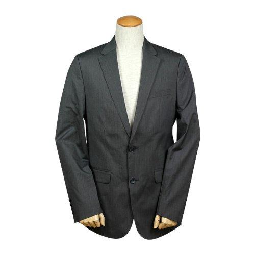 (カルバンクライン) Calvin Klein テーラードジャケット [ダークグレー]BODY FIT メンズビジネス スーツ M DARK GREY (並行輸入品)