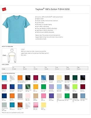 NEW Hanes - Tagless 100% Cotton T-Shirt. 5250, Deep Navy 3XL