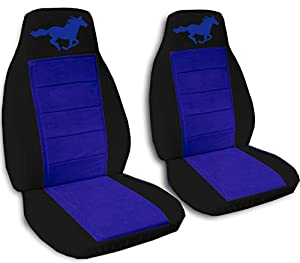 Amazon Com 2005 2006 2007 Ford Mustang Seat Covers Black