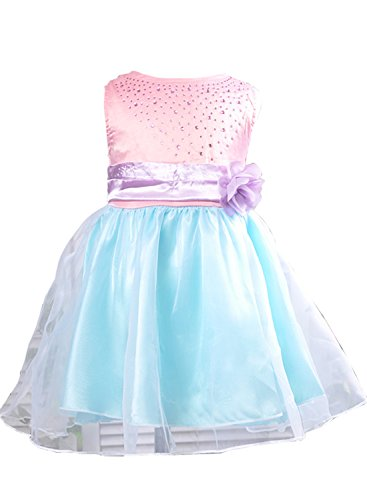 Toddler Infant Girls Princess Chiffon Dress Child Baby Flower Cute Party Dress