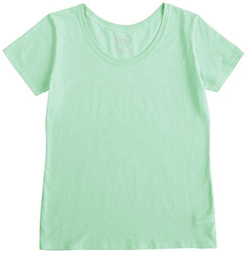 (ヘインズ)Hanes ラウンドネックTシャツ HW1-102 675 グリーンティ M