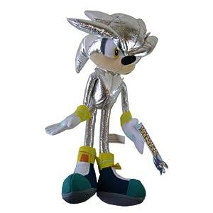 super sonic the hedgehog series plush sega silver sonic