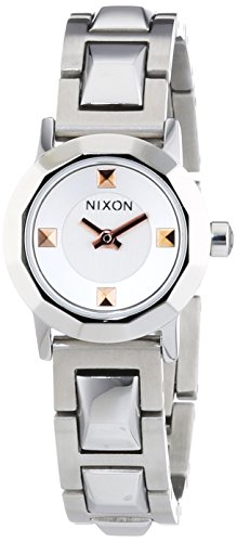 Nixon Ladies'Watch XS Mini B SS Silver Analogue Quartz Stainless Steel A 339130-00