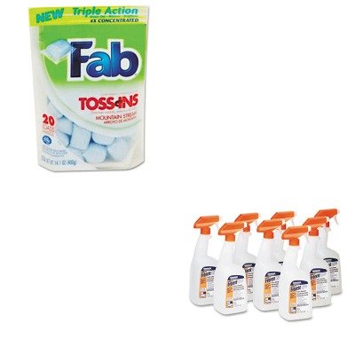 Kitpag03259Ctpbc37737 - Value Kit - Phoenix Brands Toss Ins (Pbc37737) And Febreze Fabric Refresher Amp;Amp; Odor Eliminator (Pag03259Ct) front-478427