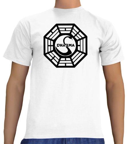 touchlines-t-shirt-uomo-bianco-white-m
