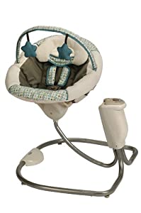 Graco Sweet Snuggle Infant Soothing Swing, Oasis (Discontinued by Manufacturer)