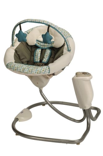 Graco Sweet Snuggle Infant Soothing Swing, Oasis