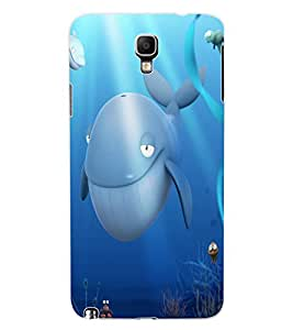 ColourCraft Dolphins Design Back Case Cover for SAMSUNG GALAXY NOTE 3 NEO DUOS N7502