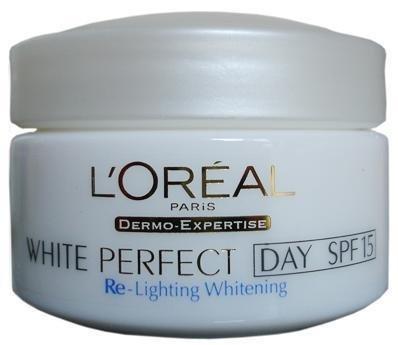 L'Oreal White Perfect Transparent Rosy Whitening Day Cream SPF 15 50ml